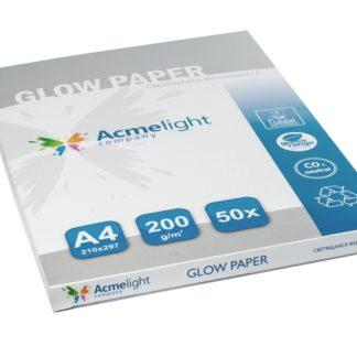 Svjetleci papir A4 - svijetli u mraku - zeleno ili plavo, glow in the dark,