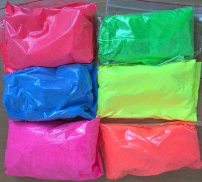 Fluorescentni pigment, UV, Neon, party pigmenti prah